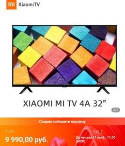 "[11.11] Телевизор 32"" Xiaomi Mi TV 4A HD Smart TV 3239InchTv (Tmall)"