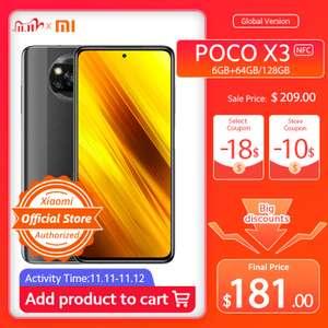 [11.11] Смартфон POCO X3 NFC Global 64 Гб