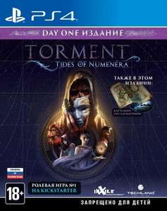 [PS4] Torment: Tides of Numenera Day One Edition (русские субтитры)