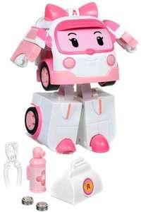 Трансформер Robocar Poli в ассортименте, со световыми эффектами, с аксессуарами, 12,5 см