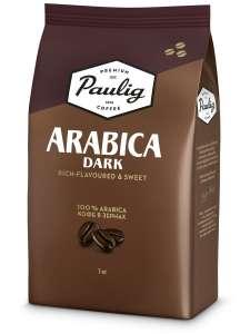 Arabica Dark кофе в зернах, 1 кг, Paulig