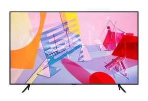 ТВ Samsung QLED QE55Q60TAUX + Яндекс станция мини в комплекте