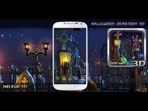 [Google play] Halloween Cemetery 3D LWP