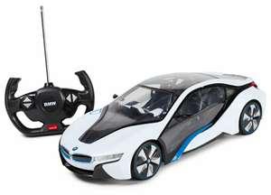 [СПб] Машинка радиоуправляемая Rastar BMW i8 1:14 белая