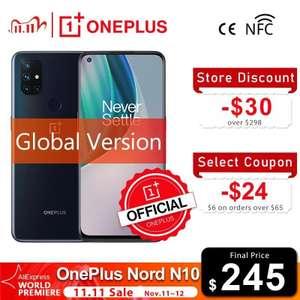 Смартфон OnePlus Nord N10 5G 6+128 с 11.11