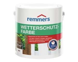 Атмосферостойкая краска для древесины Remmers Wetterschutz-Farbe / Реммерс Ветершутс Фарбе 9,2 л.