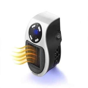 Электрический вентилятор-нагреватель 500 Вт за 15.75$