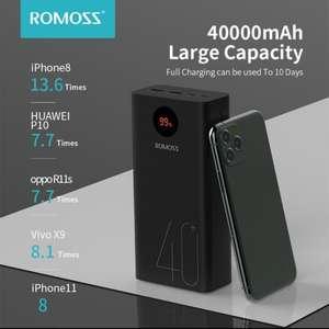 Внешний аккумулятор ROMOSS Zeus 40 000 мАч