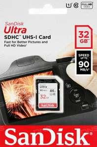 Карта памяти Sandisk Ultra SDHC 32 Gb