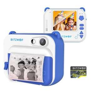 BlitzWolf® BW-DP1 детская камера фотопринтер