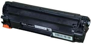 Тонер-картридж Sakura CE285A, черный, для лазерного принтера, при покупке от 2х штук