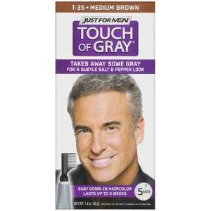 Мужская краска для волос, усов или бороды, с гребешком Just for Men, оттенки в ассортименте, 40 г