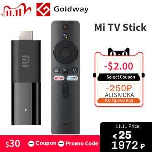 ТВ-приставка Xiaomi Mi TV Stick Android TV 9,0