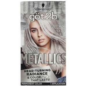 Стойкая краска для волос got2b оттенок M71 «Серебристый металлик» Metallics