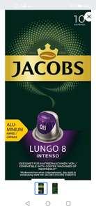 Кофе в алюминиевых капсулах Jacobs Lungo #8 Intenso, 10 капсул