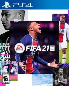 [PS4] FIFA 21 (нет пленки на коробке)