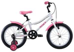 Подборка детских велосипедов со скидкой (например, велосипед STARK Foxy 16 Girl (2020)