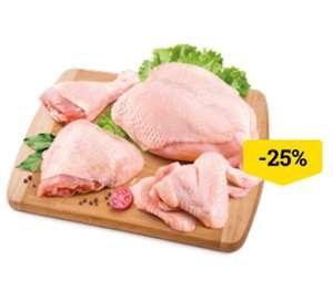 [Мск и др.] -25% на всю птицу и полуфабрикаты из птицы
