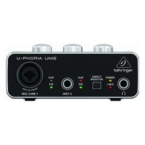 [МСК] Аудиоинтерфейс BEHRINGER U-PHORIA UM2