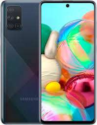 Смартфон Samsung Galaxy A71 6/128GB, черный