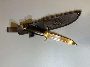 Нож туристический ручная работа 2, длина лезвия 12.4 см