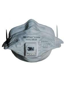 3M Респиратор для защиты органов дыхания с клапаном FFP2 складной с V-образными 9162