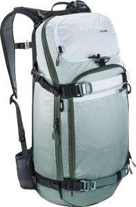 Рюкзак туристический Evoc FR Pro белый, оливковый, 20 л