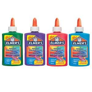Клей для слаймов Elmers Color Glue 147 мл непрозрачный