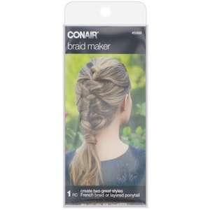 Брайдер для плетения французской косы или создания многослойного хвоста Conair
