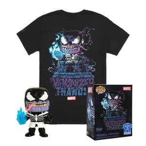 Набор Футболка + Фигурка Funko POP: Marvel Venom – Venomized Thanos