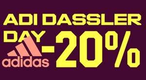 ADI DASSLER DAY в Adidas до 4 ноября, скидки 20%.