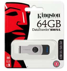 USB-флеш-накопитель USB 3.1 Kingston DataTraveler Swivl 64GB
