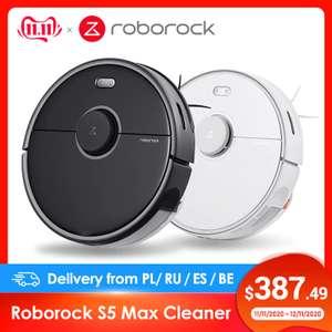 Моющий робот-пылесос Roborock S5 Max (доставка из РФ)