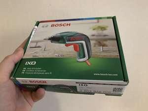 [МСК] Аккумуляторная отвёртка Bosch IXO V