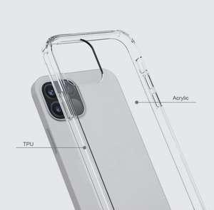 "Чехол для Apple iPhone 12 6.1""/iPhone 12 Pro 6.1"" Прозрачный"