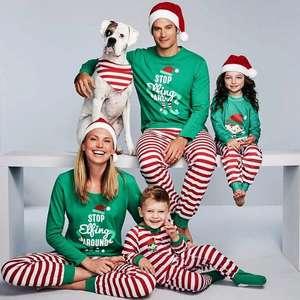 Семейный рождественский пижамный комплект (цена за пижаму для взрослого)