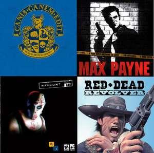 [PS4] классические игры Rockstar Games (напр. Max Payne)