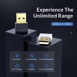 Orico мини беспроводной USB Bluetooth 5.0 адаптер, есть поддержка Aptx