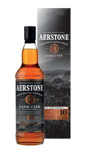Распродажа Виски в METRO, напр, Виски Аэрстоун Лэнд Каск 10 лет, 0,7 л