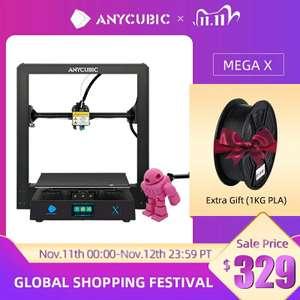 3D printer Anycubic MEGA X + 1кг пластика в подарок