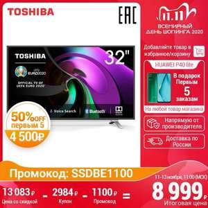 """Телевизор 32"""" SmartTV TOSHIBA 32L5069 ТВ HD 3239InchTv на Tmall с 11.11"""