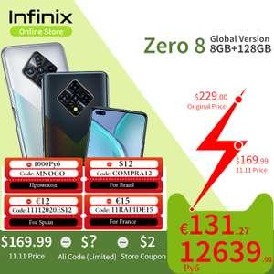Смартфон Infinix zero8 8/128ГБ