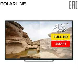 "Телевизор 43"" Polarline 43PL52TC-SM FullHD SmartTV"