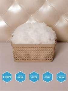Синтешар 1 сорт 1 кг наполнитель набивка подушек игрушек поделок (шарики синтепон eslon холлофайбер)