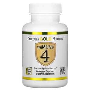 Средство для укрепления иммунитета Immune4 от California Gold Nutrition 60 капсул (1шт.на заказ)