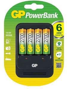 4х аккумулятора 2700 мАч + Универсальное з/у GP