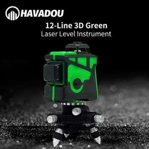 Лазерный нивелир на 12 линий Havadou DKLL12PB2