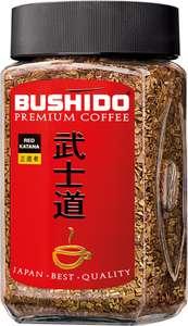 Кофе растворимый BUSHIDO в ассортименте, ст/б, 100г, Швейцария