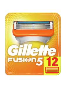 Сменные кассеты Gillette fusion5 12шт. 172р/шт.