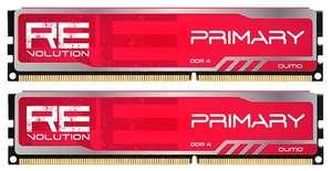 Комплект модулей памяти QUMO reVolution Primary 16 ГБ (2x8 ГБ) (Q4Rev-16G2M3000P16PrimR)